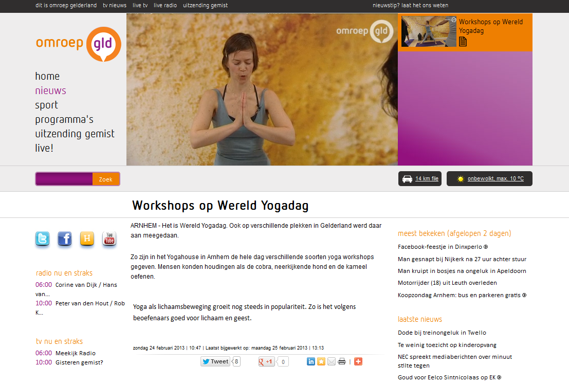 yogahouse-bij-omroep-gelderland